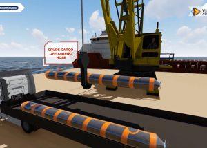 Jasa Buat Video Animasi 3D Floating Hose Pertamina - Visorra.com
